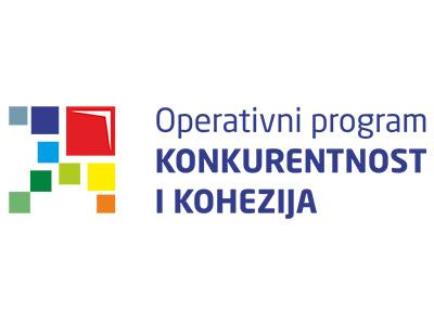 Operativni program - konkurentnost i kohezija logotip